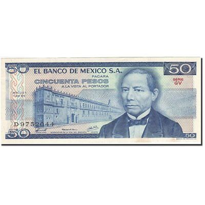 Mexico Km:67b 50 Pesos 1979-05-17 Au 55-58 Banknote Orders Are Welcome. 1978-1980 #269919