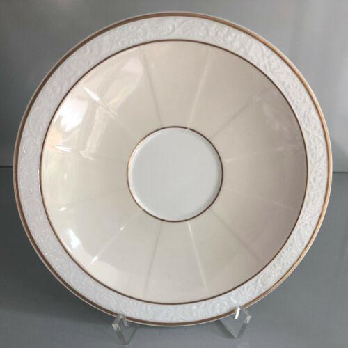 Villeroy und Boch  IVOIRE Gold UNTERTASSE 18,5 cm für SUPPENTASSE  unbenutzt