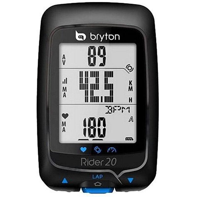Rider 20 GPS habilitado Ciclismo Computadora Con Monitor De Frecuencia Cardíaca-RRP