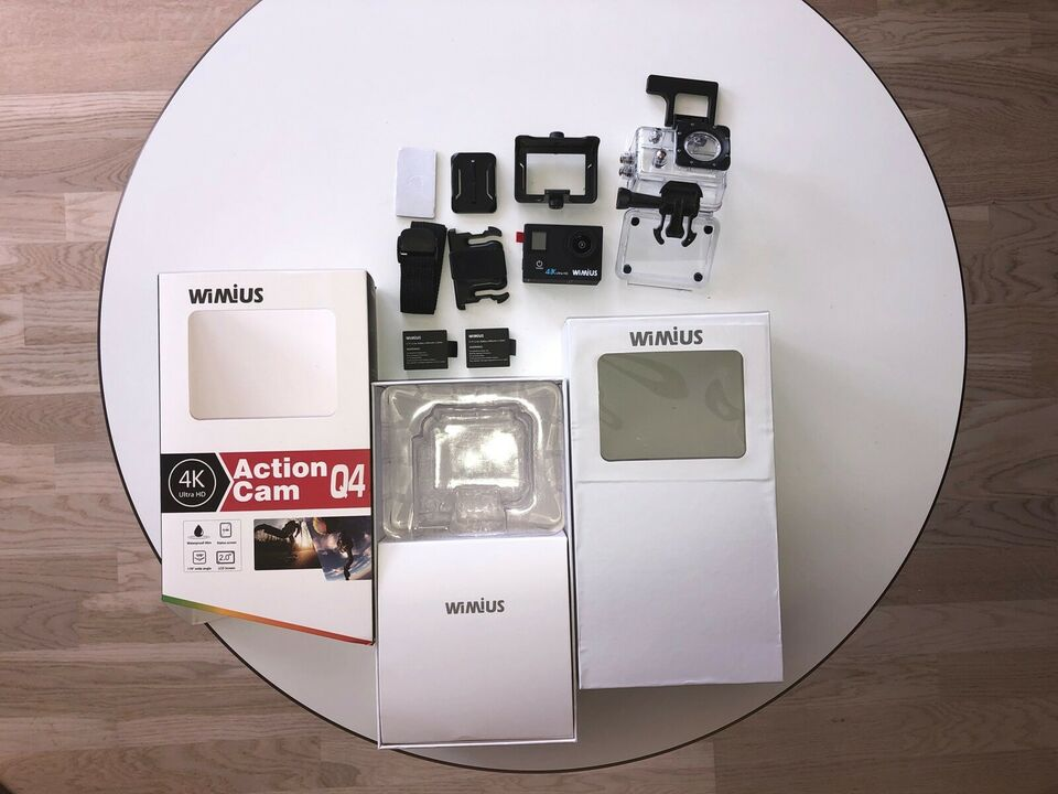 4K Action camera, Wimius, Perfekt