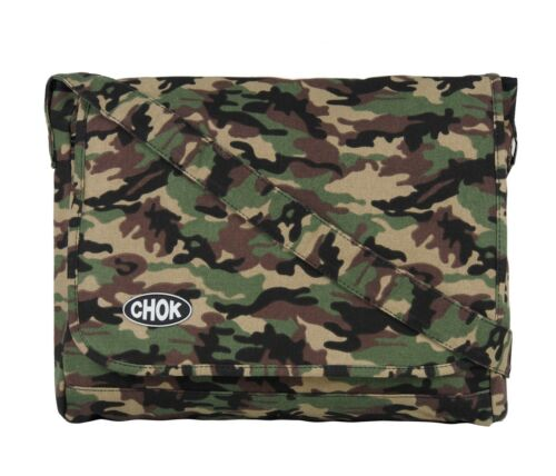 MESSENGER CAMO CAMOUFLAGE School College Water Proof Skull Army Laptop CHOK Bag