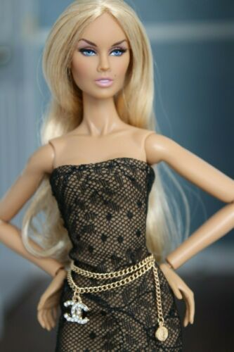 Fashion royalty//Poppy Parker//Color Infusion// Barbie// jewelry accessories
