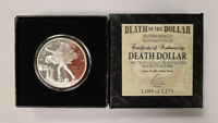1 oz Silver Shield Double Obverse Death Dollar Silver Proof Mississauga / Peel Region Toronto (GTA) Preview