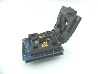 STM8S-DIP-LQFP48 module with STM8S105C6T6 controller and SWIM for ST-LINK//V2
