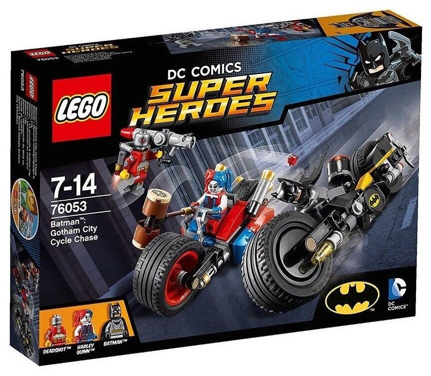 Lego Super Heroes 76053 läderlappen  Batcycle -Verfolgungsjagd i Gotham City Neuware