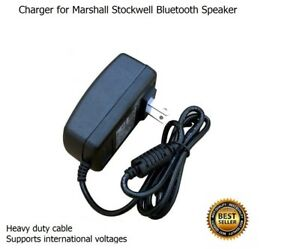 Image is loading Charger-for-Marshall-Stockwell-Bluetooth-Speaker 2a8d952449f4a