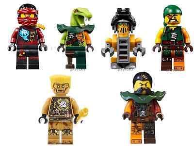 LEGO NINJAGO MINIFIGURE ECHO ZANE NINJA WITH GOLDEN STICK New 70594 MINFIG