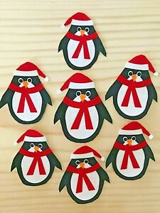 Whimsical-Christmas-Penguin-7-Iron-On-Fabric-Appliques