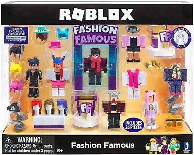 Roblox Celebrity Fashion Famous Playset Totoku Roblox Celebrity Collection Fashion Famous Playset New Ebay