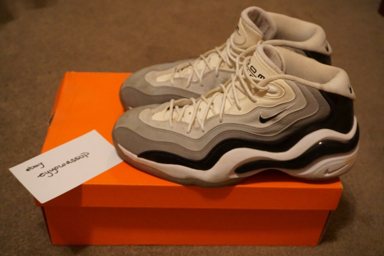 Nike Air Pippen Zoom Flight 96 Grisscale Pippen Air talla 11 00c147