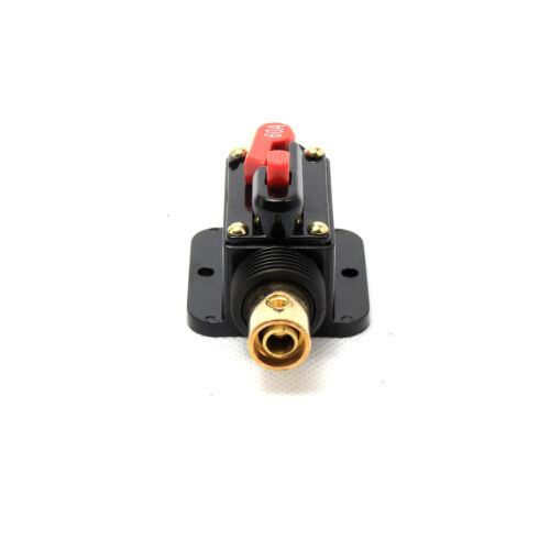 60Amp 60 A Auto In-Line Circuit Breaker Fuse For Car Audio Electrical Protection