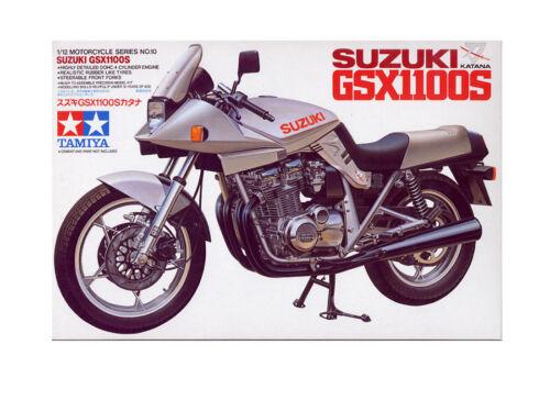 14010 Tamiya Suzuki Gsx1100S Katana 1//12th Plastic Kit Assembly Bike