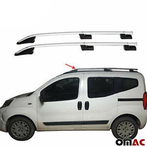 Dachreling für Fiat Fiorino & Fiat Qubo 2008-2019 Aluminium Grau TüV ABE