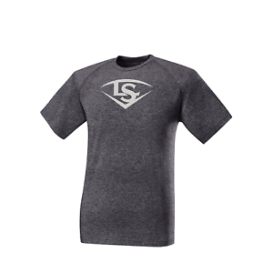 Louisville Slugger Shield Men/'s Baseball Short Sleeve T-Shirt WTL2023
