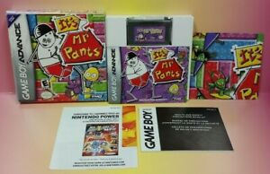It-039-s-Mr-Pants-Game-Boy-Advance-COMPLETE-Authentic-2005-Tested-CIB-GBA