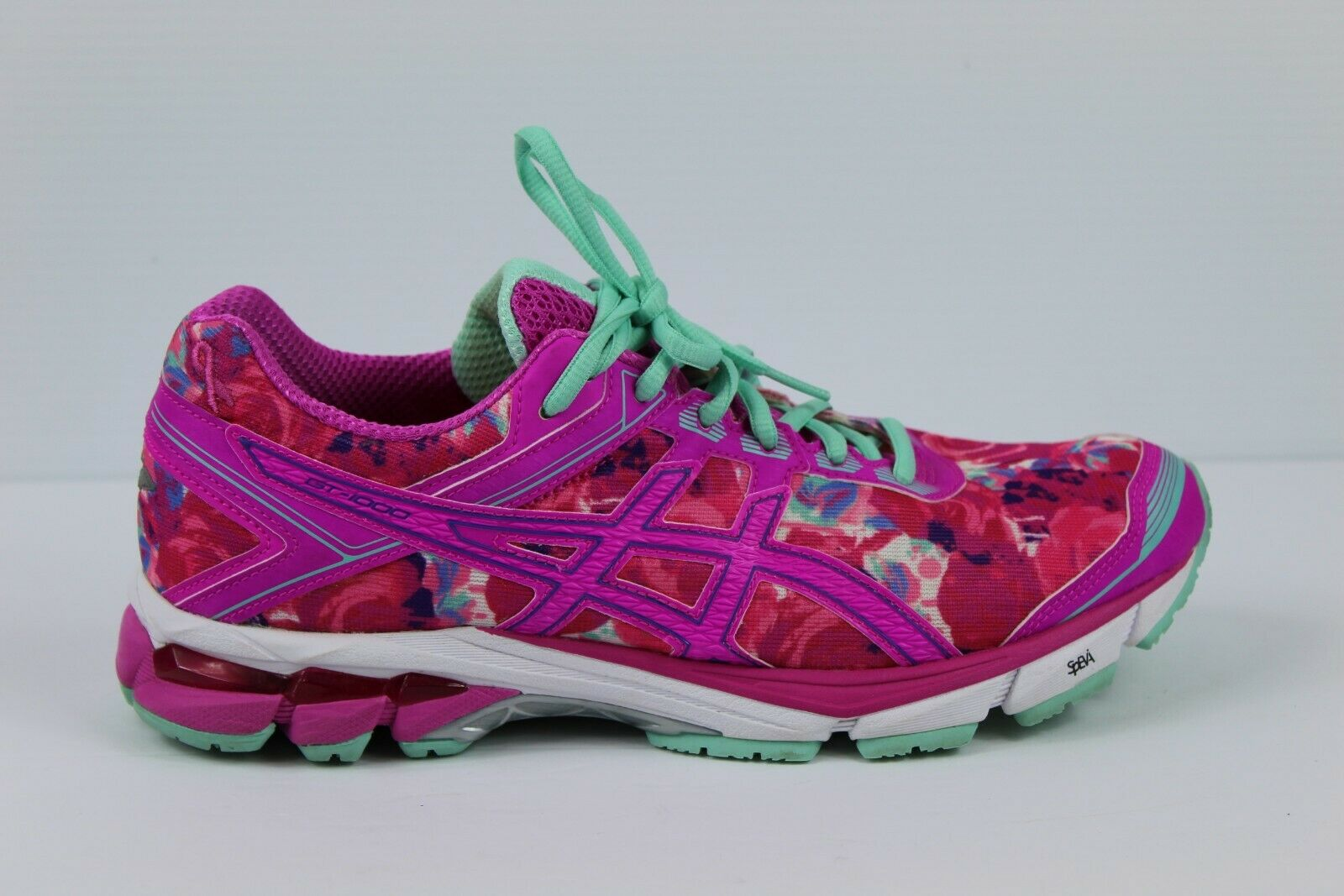 Asics Gel IGS GT1000 T5B8N Hot Pink Cancer Specialty Women's shoes Sneakers 9.5