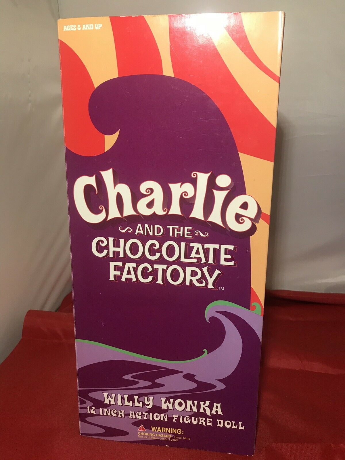 Charlie & The Chocolate Factory - 12  Willy Wonka Action Figure By Gentle Giant