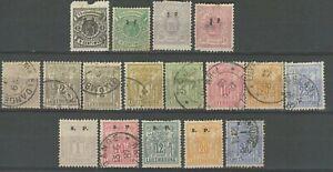 Lussemburgo 1882 ☀ ungebr./Timbrato