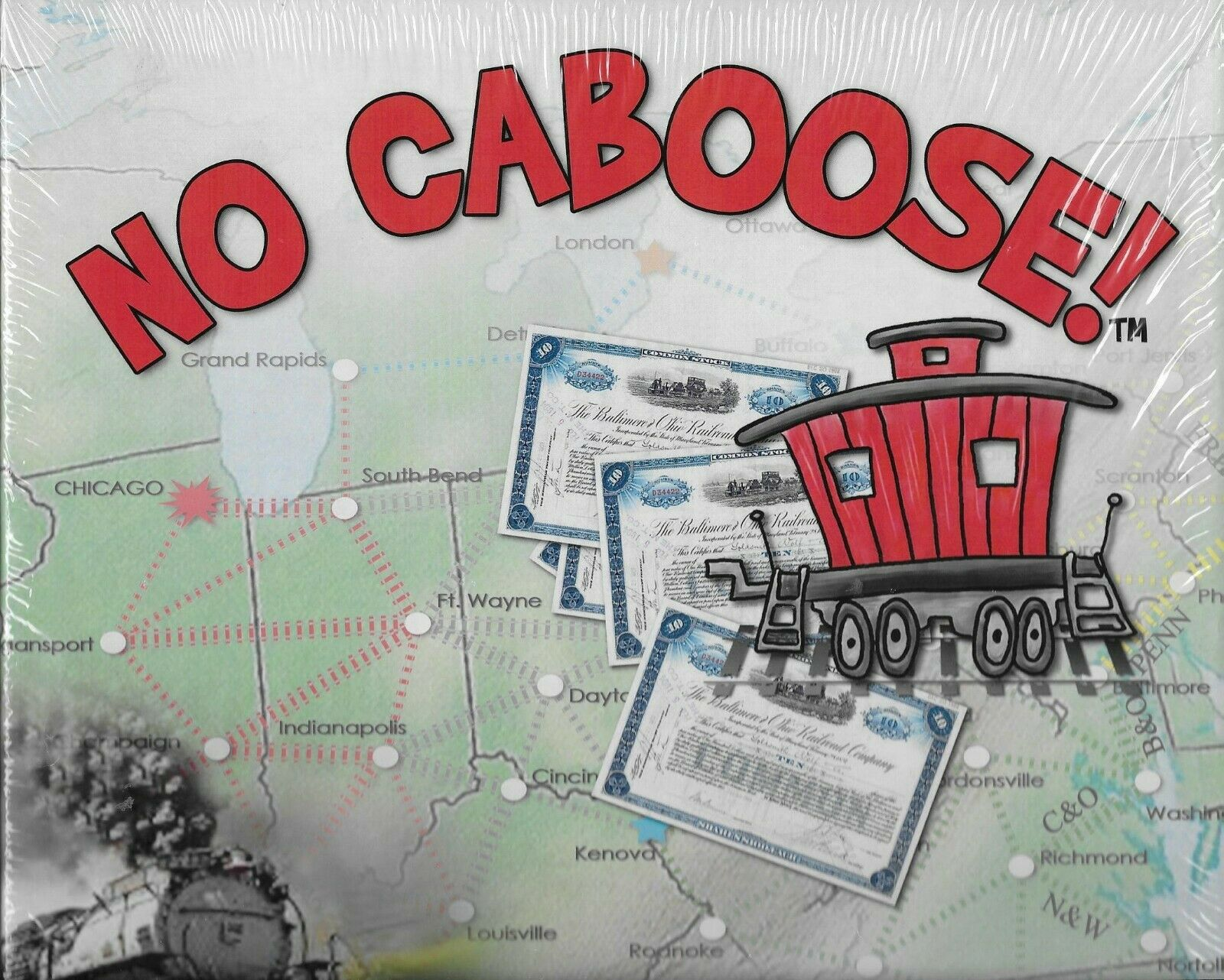 Sealed new in shrink - NO CABOOSE