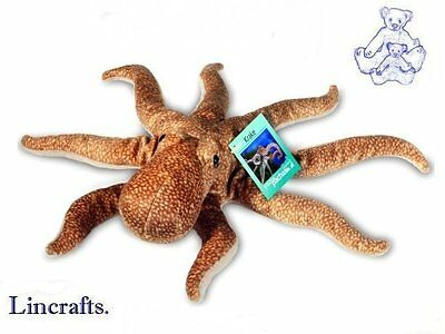 Octopus Plush Soft Toy by Hermann Teddy Collection. 90129