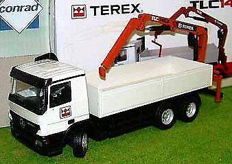 CON4099 02 - MERCEDES Actros 6x4 Benne Avec Grue  TEREX TLC 145.2  - 1 50