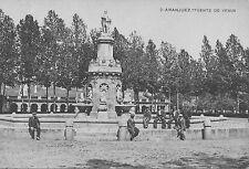 Tarjeta Postal. Aranjuez. Fuente de Venus.