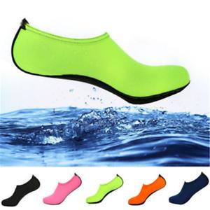 Slip-On-Hombre-Mujer-Piel-Zapatos-de-agua-AQUA-Playa-Calcetines-Yoga-Ejercicio-Piscina-Natacion-Surf