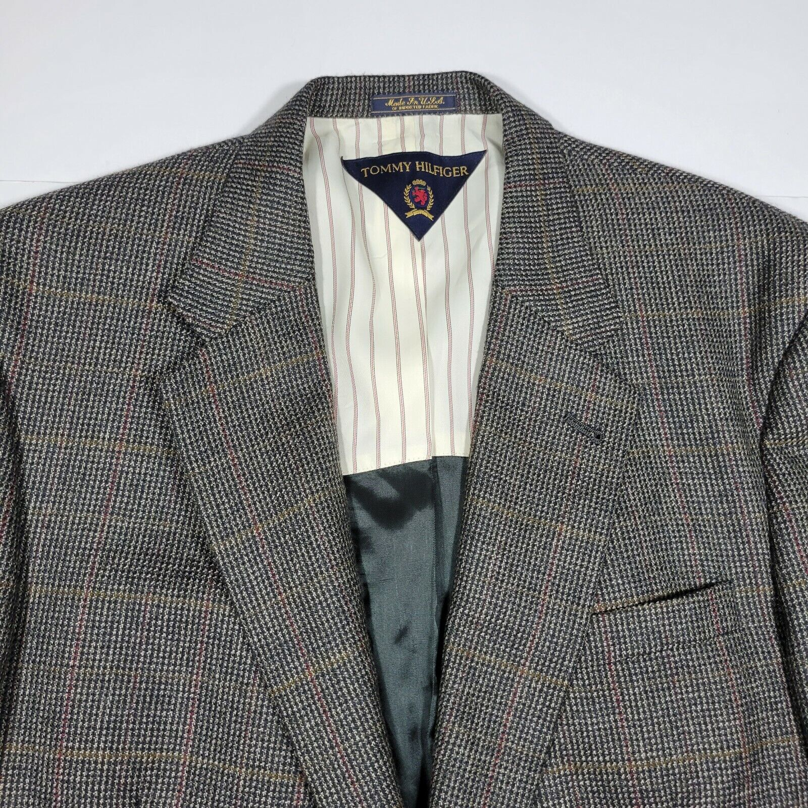 Tommy Hilfiger Sport Coat Blazer - Gray Multi Col… - image 5