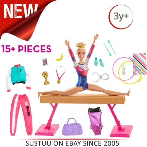 Barbie gymnastique jeu │ poupée et accessoires │ Kid/'s Creative gymnaste Play Set
