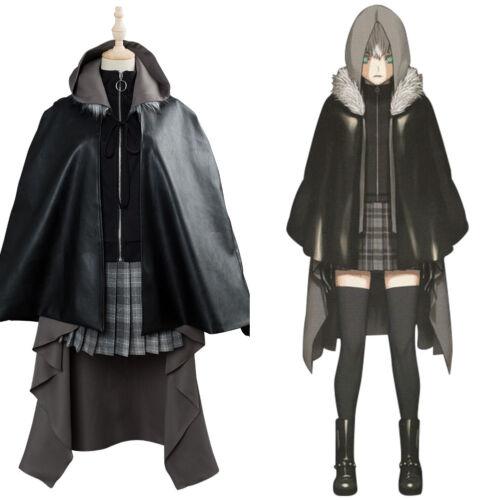 Lord El-Melloi II Case Files Gray Outfit Cosplay Costume Coat Uniform
