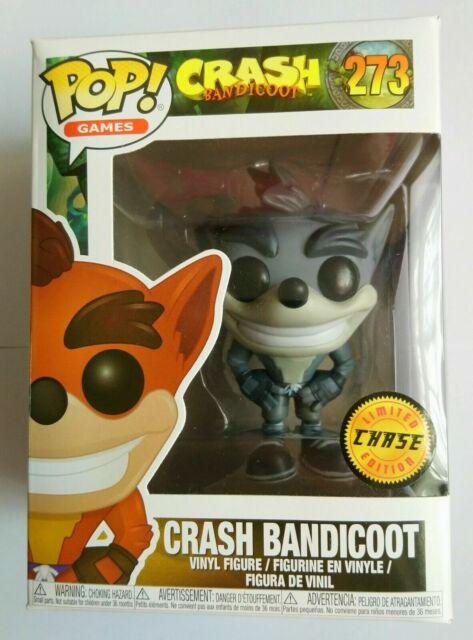273 Crash Bandicoot-Crash Bandicoot POP Figura de Vinilo