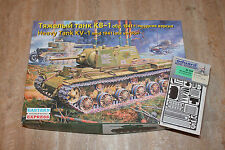 Eastern Express 35119 KV-1 mod 1941 late + Eduard 35344 Ätzteile 1:35 NEU OVP