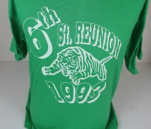 VINTAGE-1993-LINCOLN-HIGH-SCHOOL-REUNION-EAST-ST-LOUIS-IL-TED-SAVAGE-T-SHIRT-XL