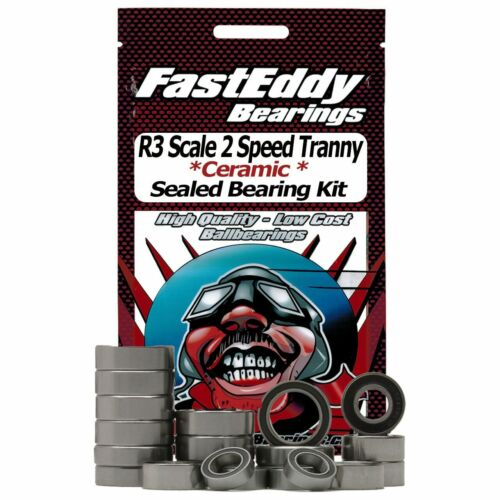 RC4WD R3 Scale 2 Speed Transmission Ceramic Rubber Sealed Bearing Kit