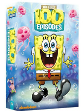 SpongeBob SquarePants: Series Complete Seasons 1-5 Episodes 1-100 Boxed DVD Set