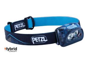 Petzl-ACTIK-350-Lumens-Headlamp-Blue-Lightweight-Men-039-s-Women-039-s-Running-Lamps