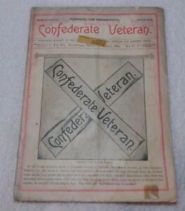 Rare-ID-039-d-A-B-Saxon-CONFEDERATE-VETERAN-Magazine-Nov-1894-Death-at-Chickamauga