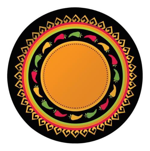 """parte de una gama Platos 9/"""" Fiesta grande Vajilla De Fiesta Diversión mexicanos"""