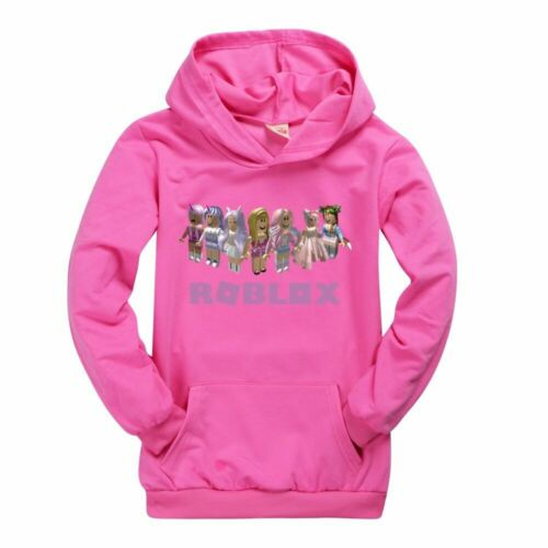 ROBLOX Kids Hoodie Boys Girls Hooded Pullover Tops Sweatshirt Birthday Xmas Gift