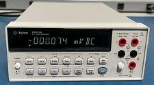 Agilent Hp Keysight 34401a Digital Multimeter 65 Digit Tested Warranty