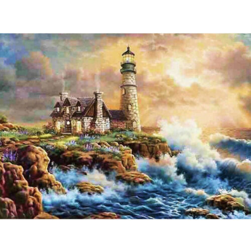 5D Diamond Painting Sea River Embroidery Cross Stitch Kits Craft Art Home Decor