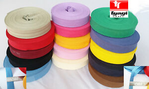 1-034-25MM-X-25-MTR-COTTON-BIAS-BINDING-BUNTING-QUILT-SEWING-EDGING-TRIMMING-TAPE