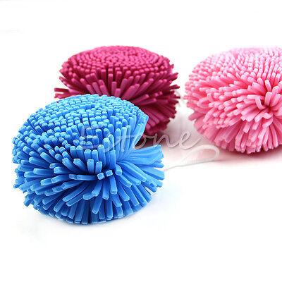 New 1x Bath/Shower Body Exfoliate Puff Sponge Mesh EVA Colorful Bath Ball