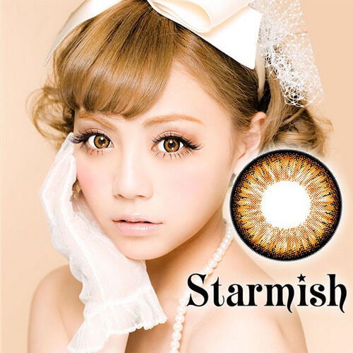 Braun Farbige Kontaktlinsen Color Contact Circle Lenses DIA14.5mm PmSBr