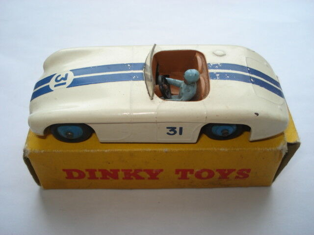 C1950S DINKY TOYS No133 CUNNINGHAM C-5R ROAD RACER IN ORIGINAL  BOX  rentable