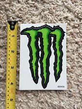 "Monster Energy Logo 4"" Sticker Decal Sponsor Sheet Kit"