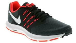 6e9e27309 NIKE Run Swift Men's Running Shoes Black+Red Athletic Sneakers ...