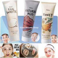 Mistine Facial Cleanse Whitening Peel off Mud Mask Honey Scrub Cream Acne Scar