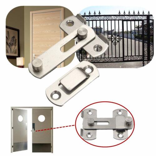 Maison 20x50x70mm Porte De Sécurité Garde-Porte en acier inoxydable Loquet Verrou Loquet De Verrouillage