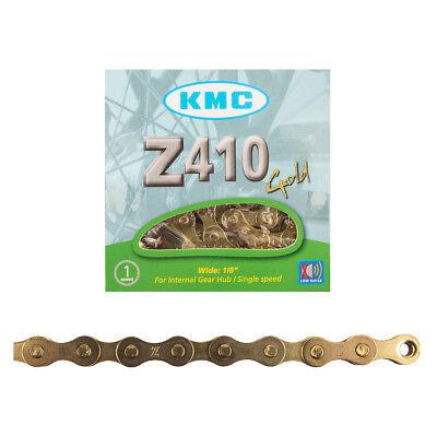 """KMC BLACK Z410 BMX CHAIN *NEW* 1//2/""""X1//8/"""" race street"""